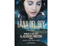 3 x Lana Del Rey ticket STALLS STANDING