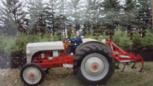 Ford Tractor C/W: Cultivator