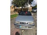 Saab 2.0 turbo convertible 2001 12 months mot very reliable quick car
