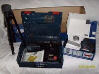 Bosch Self Levelling 360 Degree 3 plane laser level kit GLL 380 P