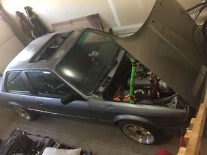 86 5.0L swapped E30 sell or trade for truck or sled