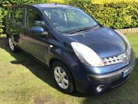 Exceptional Low Mileage 2006 Note 1.6 SE AUTOMATIC 18000 Miles Only! HPI Clear And FSH July 18 MOT!