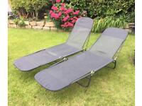 2 next sun loungers