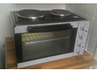 Mini oven with hobs, Holme 28L