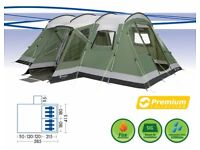 Outwell Montana 6 tent. 2014 model, bought new in 2015