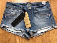 Brand new!! Superdry denim shorts