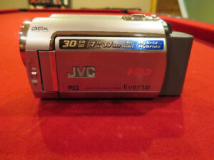JVC 30 GB HDD Camcorder with accessories