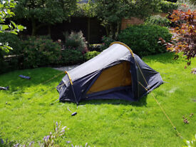 2017 VANGO BANSHEE 200 2 PERSON TENT + FOOTPRINT/GROUNDSHEET (ANTHRACITE)