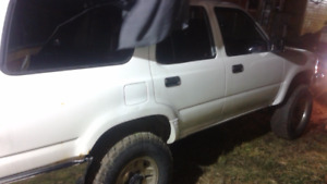 PRICE SLASHED FOR QUICK SALE !!1991 Toyota 4Runner, SR 5, 4x4