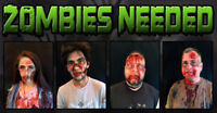 Volunteer Zombies Needed Oct 20th-22nd & Oct 27th-29th