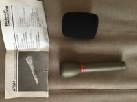 Audio Technica AT804 Omnidirectional Dynamic Microphone X2