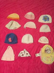 Baby hats and Baby bibs