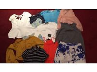 Ladies Clothing Bundle Size 8-10 River Island, Topshop, Hollister and more!✨