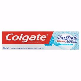 Bulk purchase Colgate Max Fresh Cool Mint Toothpaste 100ml - 6pack