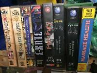 VHS job lot