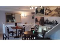 Fully Licensed Restaurant/Coffee Shop For Sale £105,000