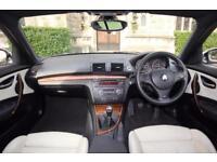 2008 58 BMW 118D M Sport Alpine White/Cream Leather 5dr Hatch FACELIFT LCI like 116 118 d i