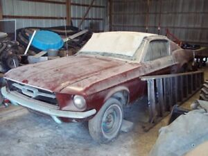 1965-1967 Mustang in need of work