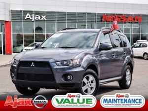 2010 Mitsubishi Outlander LS*Accident Free*Valure Priced