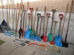Tons of garden tools