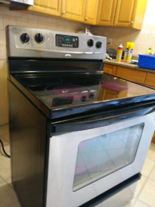 smooth top self cleaning ststeel steel stove with free delive