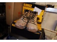 WORKWEAR CLEARANCE! Low Prices Stanley Site DeWalt Branded Safety Boots and Safety Trainers