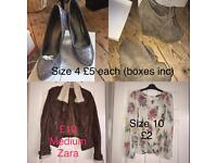 Clothes / household items various
