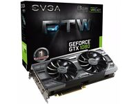 *NEW AND FACTORY SEALED* EVGA GTX 1080 FTW ACX 3.0 Gaming GPU