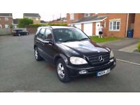 2004 MERCEDES ML 270 CDI AUTOMATIC 4X4 GREAT DRIVER