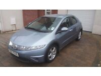 2008 HONDA CIVIC 1.8 I-VTEC SE, ONLY 60K, 5 DOOR, 1 PREVIOUS OWNER, LONG MOT, EXCELLENT CONDITION!