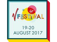2 x v festival weekend tickets
