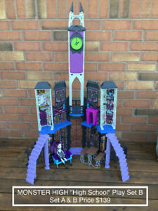 Halloween Toys - Monster High Play Sets & Dolls AMAZING DEAL!