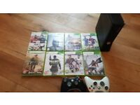 xbox 360 and Games with Controller