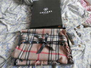 Brand new womens scarf in box $20