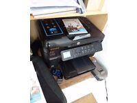 Photo smart prem c410 printer wirless printer/ scanner/copier