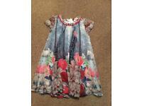 Girls Ted Baker Dress age 4