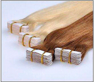 Russian Tape In Hair Extensions