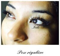 Lashlift/ rehaussement des cils & pose d'extension de cils