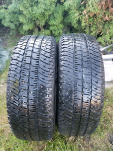 Two Michelin 265/70R17