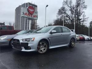 2011 Mitsubishi Lancer EVOLUTION GSR 5 SPEED AWD - WE FINANCE