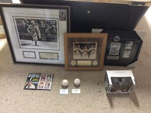 NEW YORK YANKEE LEGENDS COLLECTION ..Ruth, DiMaggio, Mantle +