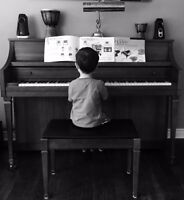 Piano Lessons for Beginners - Book for September now!