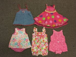 12-18 month summer dresses and rompers