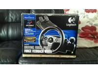 Ps2 steering wheel
