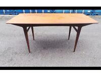 retro vintage danish table teak table,possible delivery