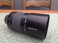 Tamron 500mm mirror lens for sale