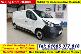 2015 - 65 - VAUXHALL VIVARO 2900 1.6CDTI 115PS LWB VAN (GUIDE PRICE)