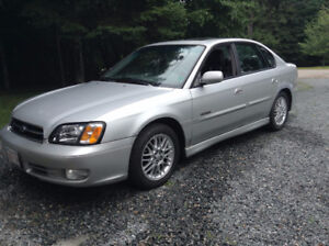 2002 Subaru Legacy Limited Edition– All Wheel Drive