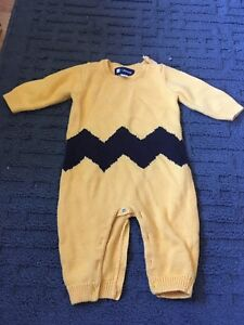 3-6 month baby gap Charlie Brown outfit