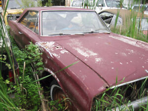 1967 dodge coronet 500 PARTS CARS Package deal